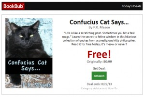 Picture from a BookBub email I received recently.