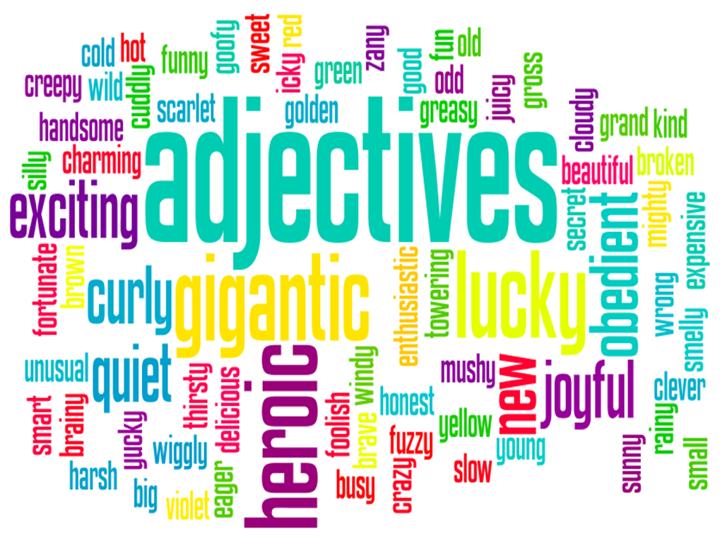Worksheet Family Adjective adverbs and adjectives are not your friends adjectives